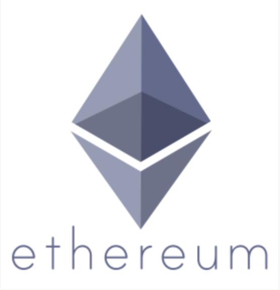 仮想通貨イーサリアム(ETH)のロゴ